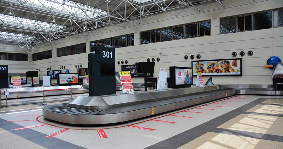 Аэропорт Анталии и ковид
