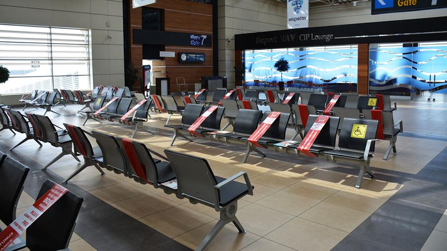 Меры борьбы с Ковид в аэропорту Анталии