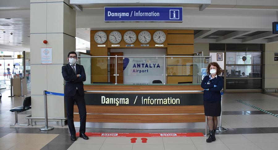 тест на Ковид в аэропорту Анталии