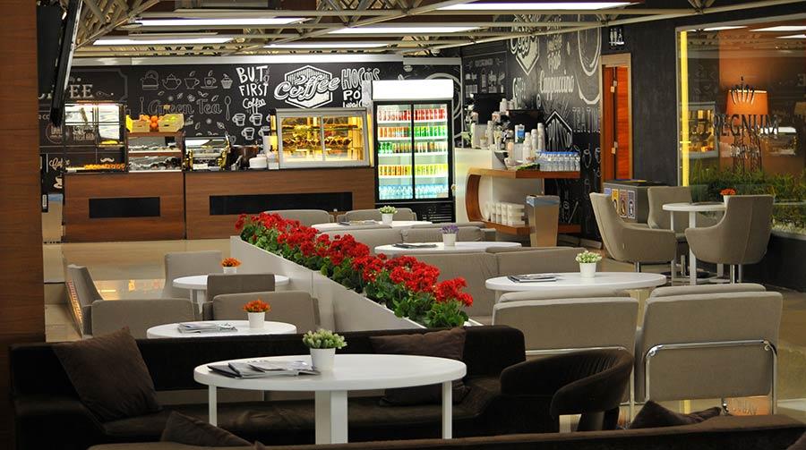Где поесть в аэропорту Анталии